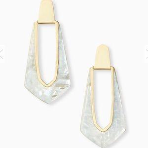 Kendra Scott Kiernan Gold Hoop Earrings IMOP